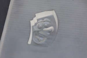 Negative Mold of 3d Mascot