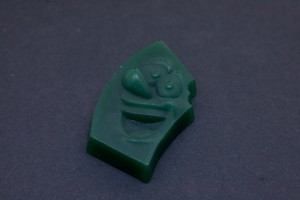 Wax Positive of 3d Mascot